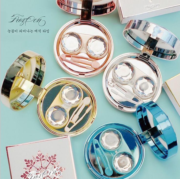 Best Christmas Gift Contact Lens Box Holder Travel Case Contact Lens Container High Quality Contact Lenses Cute Lens Box