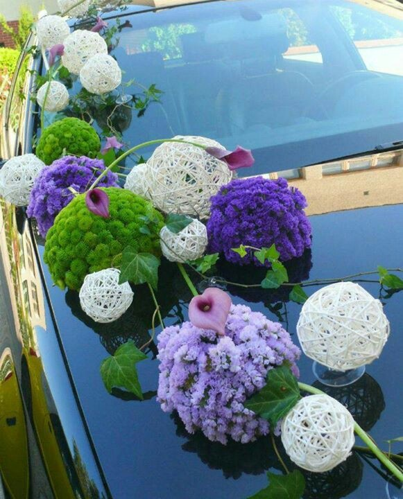 Woow Weddingcar Pomanders