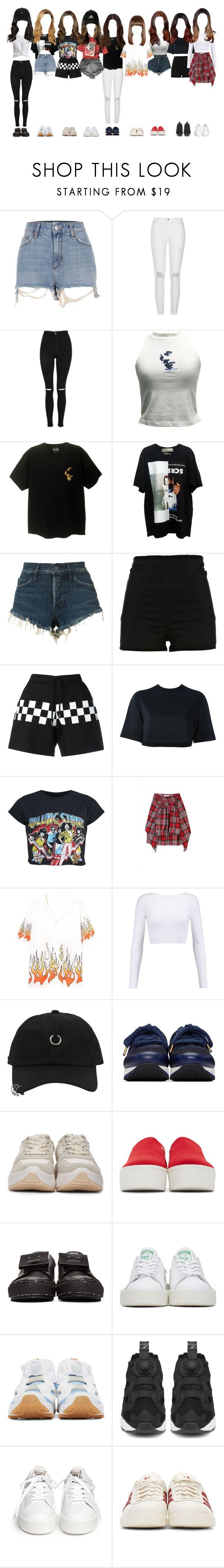 """""""CaFei's RS Entertainment Audition"""" by kkomppul ❤ liked on Polyvore featuring River Island, Topshop, 3x1, Dsquared2, NIKE, Cushnie Et Ochs, StyleNanda, Jimmy Choo, Eytys and Opening Ceremony"""