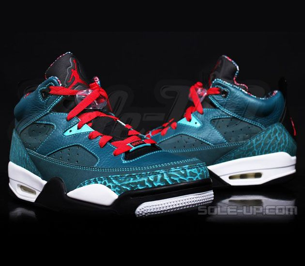 the latest c3441 5db02 Hot Online Nike Jordan Super.Fly 2 Cheap sale Dark Sea Green