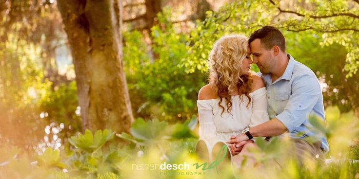 Engagement Photos By Nathan Desch Photography | Rustic Engagement Pictures