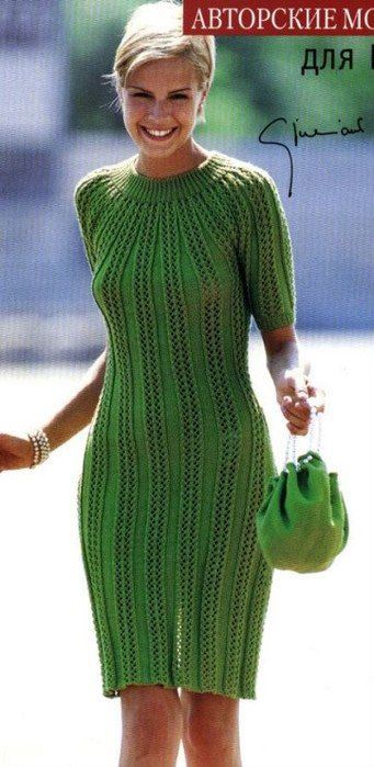 Платье спицами описание. Связать платье спицами для начинающих | Домоводство для всей семьи