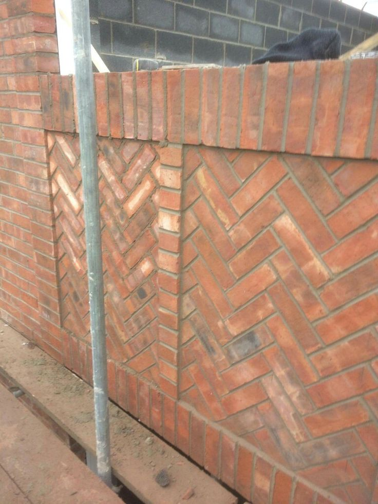 Herringbone Panel Bricklayers In 2019 Pinterest