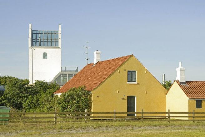 Kirken i Vesterø Havn på Læsø rummer idag et kursuscenter.