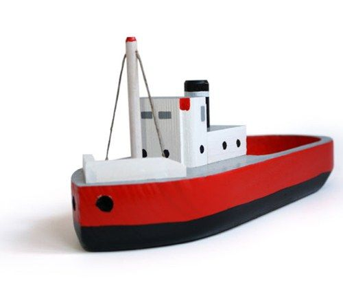 Wooden Toy Boats Made from 19th Century Patterns | Handmade Charlotte