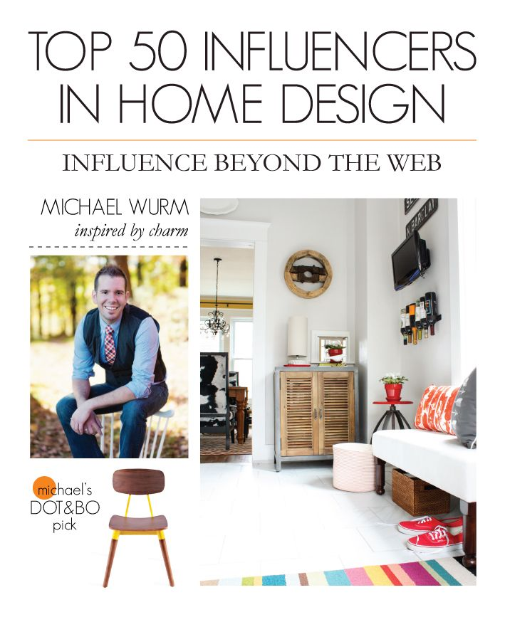 Home Design Influencers Part - 18: Top 50 Influencers In Home Design: Influence Beyond The Web The Photographs  On Michael Wurmu0027s