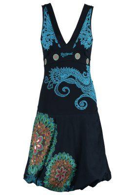 Desigual LAURITA - Vestido de algodón - marino por 64,95 € (7/03/15) en Zalando.es