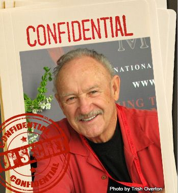 Before he was Behind Enemy Lines, on the big screen, Gene Hackman spent time in the Marines as a field radio operator and as a DJ for the Armed Forces Network.