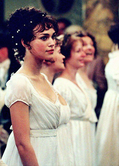 Keira Knightley, Elizabeth Bennet - Pride & Prejudice (2005) #janeausten #joewright Dress idea for Summer Ball