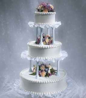 wedding cake with columns 35 best images about wedding cakes on columns 26852