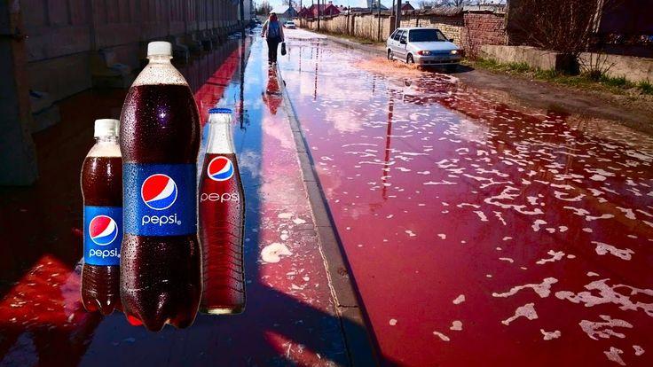 Pepsi Море! Под Липецком Обрушился Склад PepsiCo 25.04.17