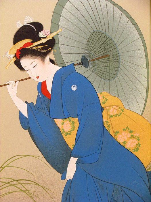 Японская художница Уэмура Сёэн. Обсуждение на LiveInternet - Российский Сервис Онлайн-Дневников