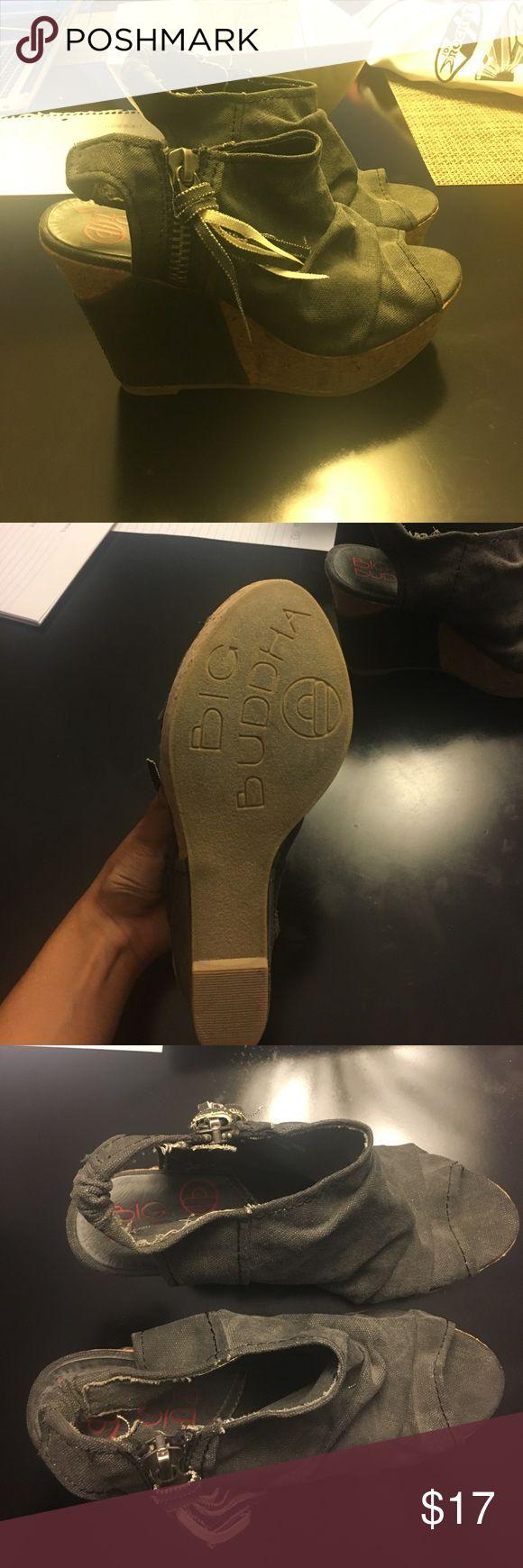 Wedges Wedges Big Buddha Shoes Wedges