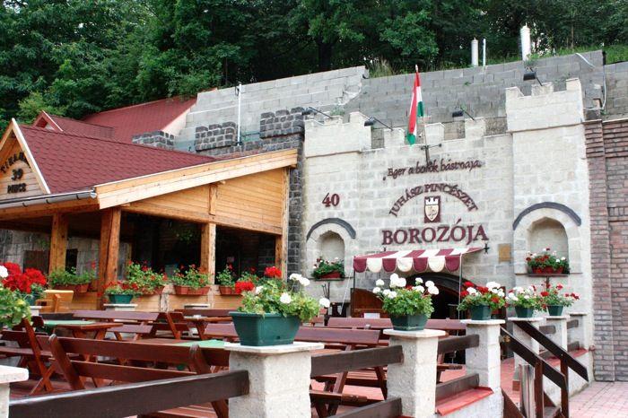 Eger, Hungary - winery