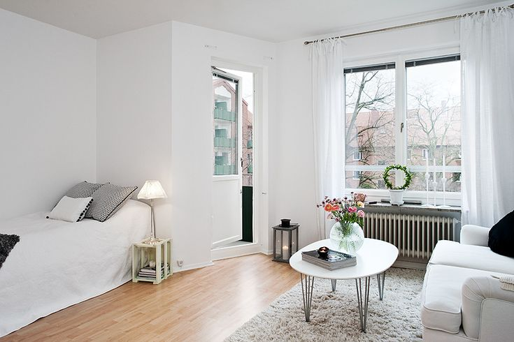 Studio Apartment Minimalist love the simplicity and the way that it is minimalist but the