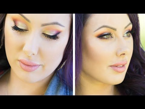 Get Ready with Me: Summer Party Makeup + New Hair Cut! | Makeup Geek - YouTube
