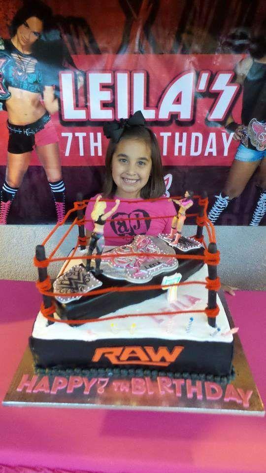 Wwe Divas Birthday Cakes