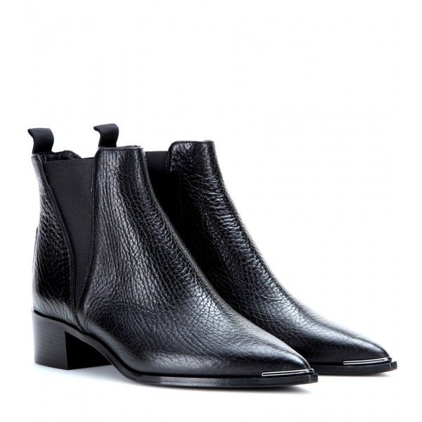 17 Best ideas about Black Leather Ankle Boots on Pinterest | Black ...