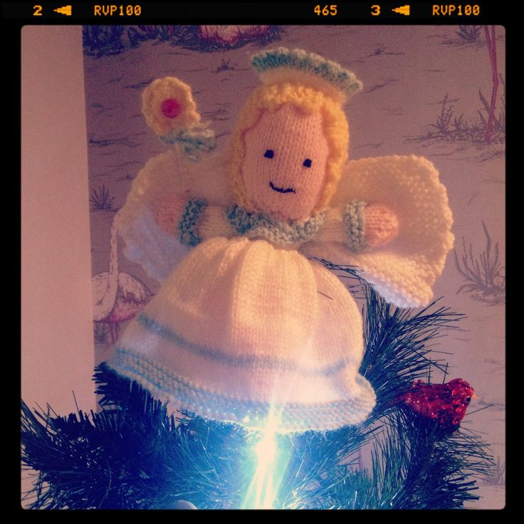 Handmade angel- made by my incredible nan who is nearly 93 - inspirational x