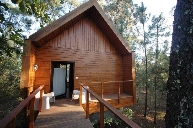 Gemütliche Holzhütte mitten im Wald