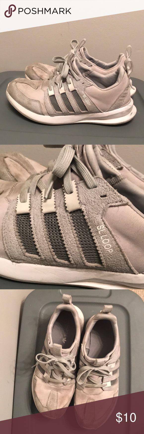 Adidas SL Loop Men's Adidas SL Loop size 11 in light grey. Average condition. adidas Shoes Athletic Shoes