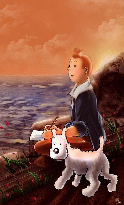 #Tintin Tintin Tribute by Mami02