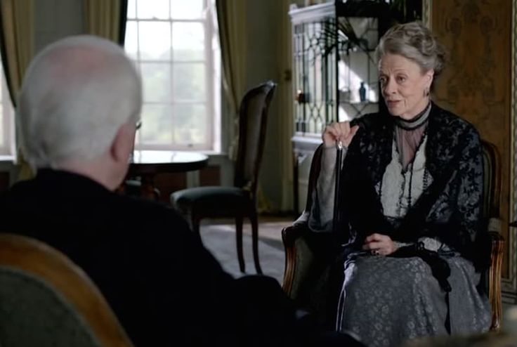 """""""Maggie always asks to have something going on,"""" said Woods. """"It's quite difficult — a Dowager of that time and age wouldn't have really done much, really.""""As a compromise, Woods filled the Countess' desk with bundles of correspondence to at least give the suggestion of how she fills her hours. """"They'd have written a diary, written letters,"""" he said. """"I think sometimes Maggie wishes she could do something. But, they're quite restricted."""" If Woods couldn't make it seem like the Countess' life…"""