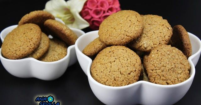 Galletas digestive, sanas a tope Con Thermomix.