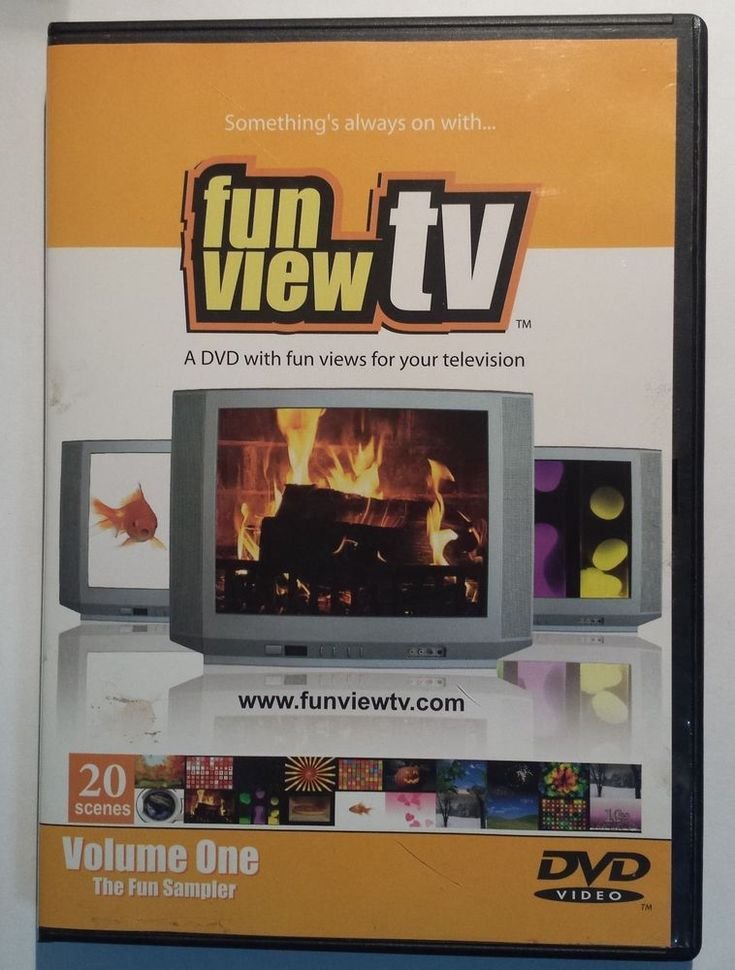 FUN VIEW TV Vol 1: VIRTUAL Fireplace Fish Fireworks Nature++ ~ As Seen On Ellen  #FunViewTV