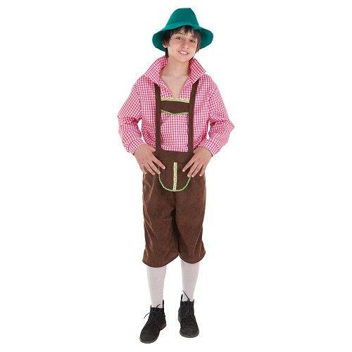 Disfraz Tirolés Niño Infantil