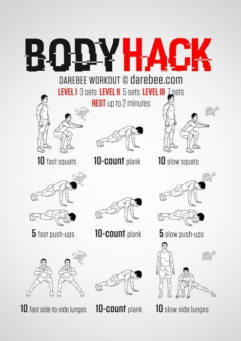Looking to activate slow twitch and super fast twitch muscle try this