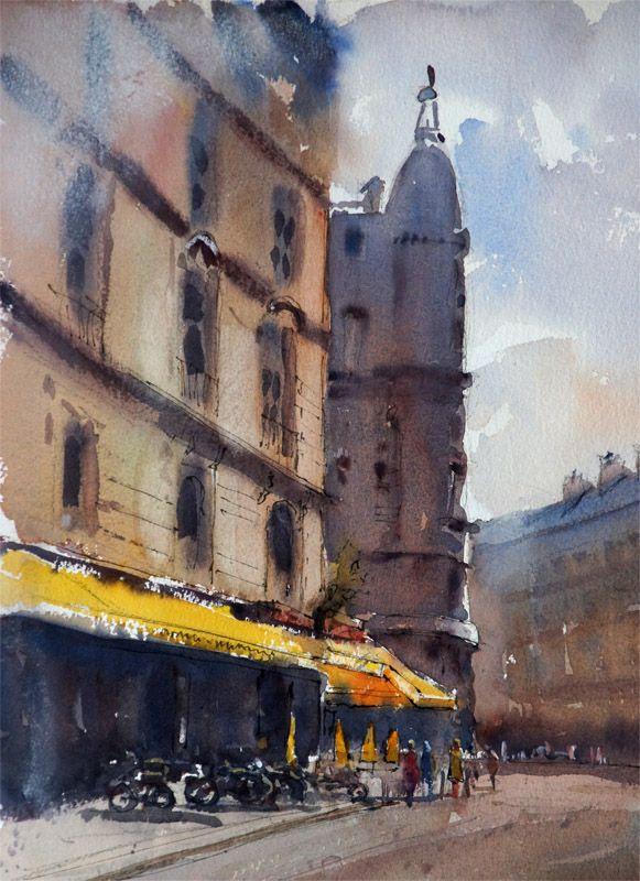 Paris Street by John Lovett