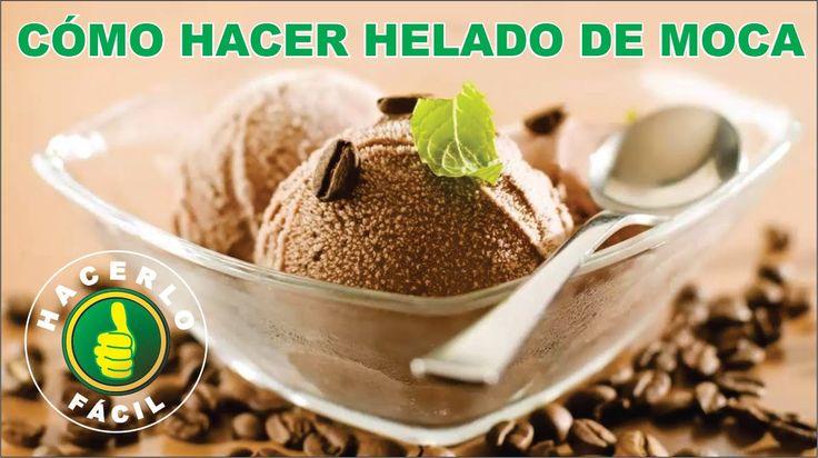 Cómo Hacer Helado De Moca (Café y Chocolate)