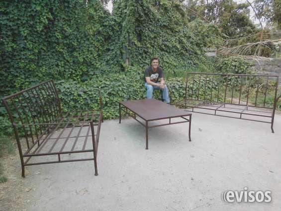 Muebles De Fierro Forjado Terraza Esilo Indusrial Andres