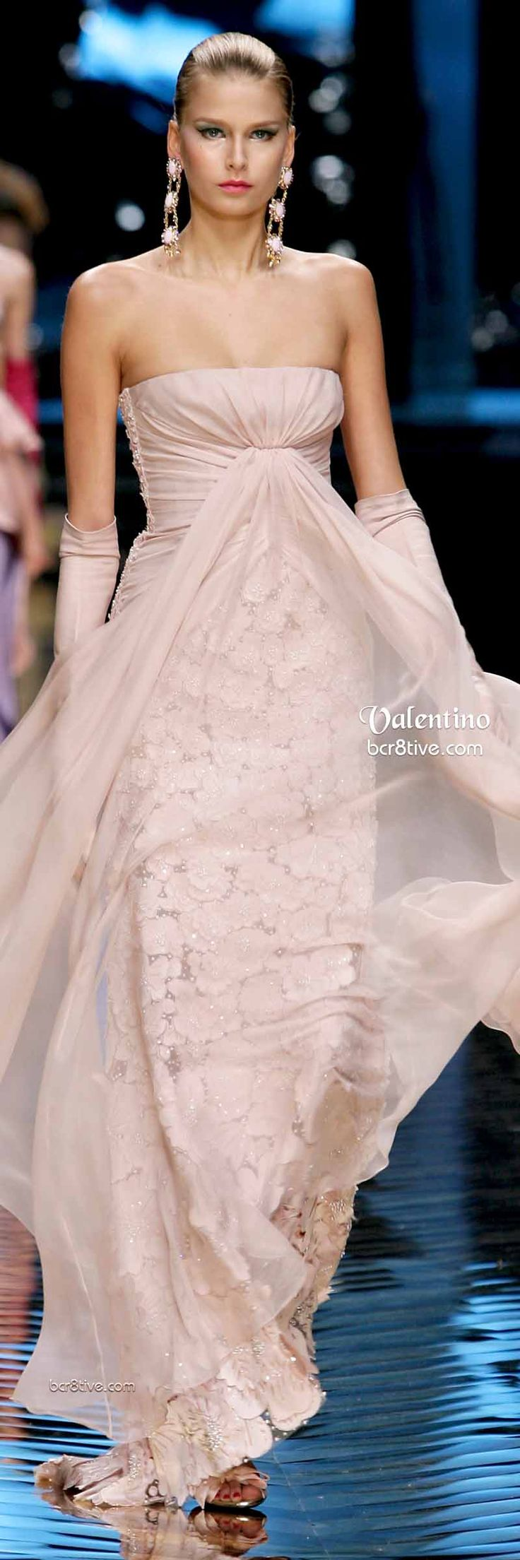 Farewell Valentino Collection - LOVE this blush colored gown!