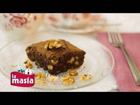 Recetas Recetas   Receta Brownie de chocolate y nueces