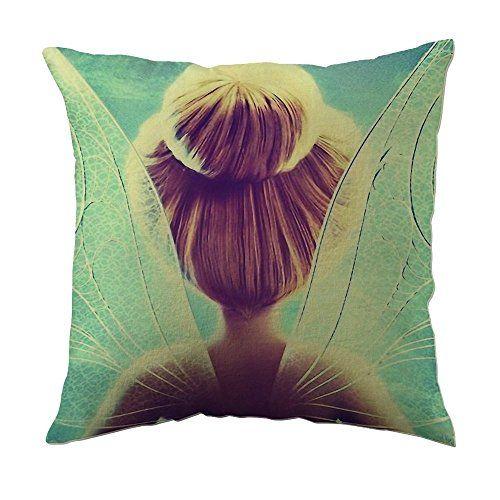 JSBStore Tinkerbell Peter Pan Disney Pillow Case Cushion Cover Home Sofa Decorative 18 X 18 Squares Gift Choice JSBStore http://www.amazon.com/dp/B01A74V8IQ/ref=cm_sw_r_pi_dp_q2IVwb0765WJF