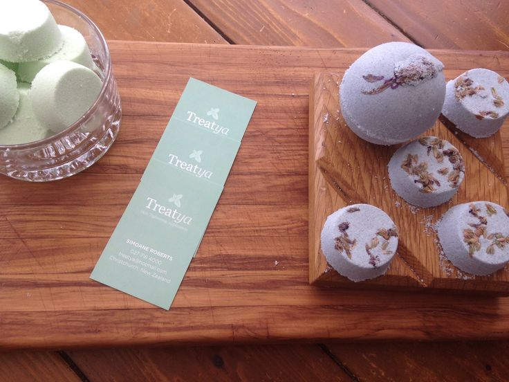 Treatya 1st two Bath bomb flavours are up Order now