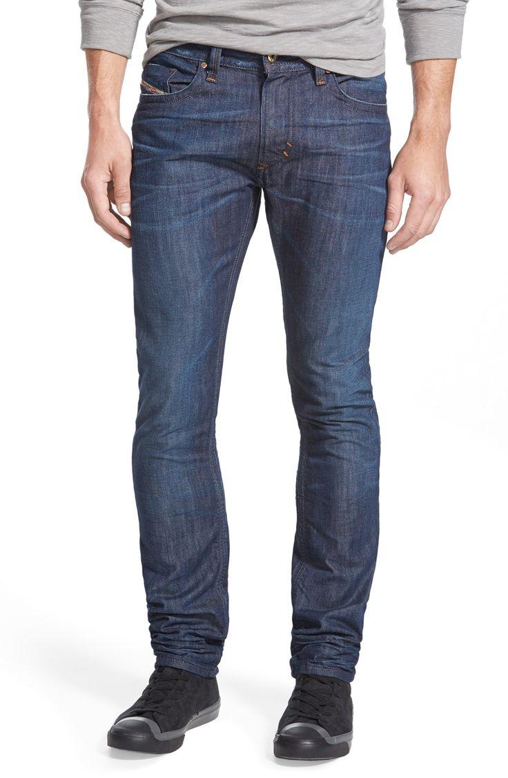 DIESEL® 'Thavar' Slim Fit Jeans (0842N)