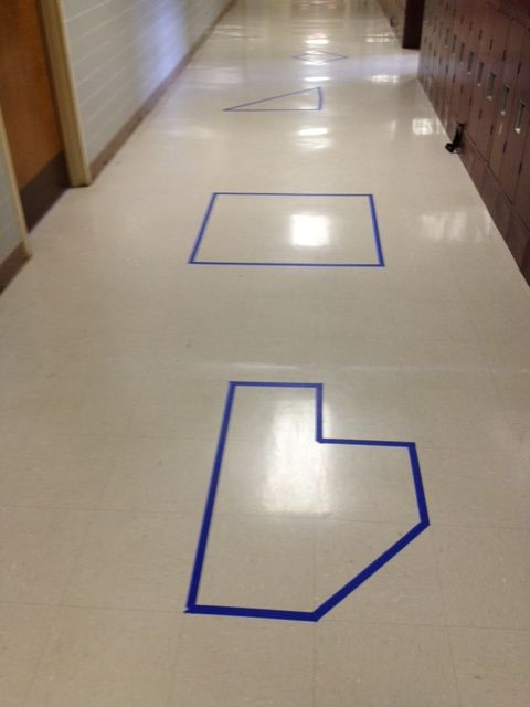 Area and perimeter lab abc123 pinterest for Floor mathematics