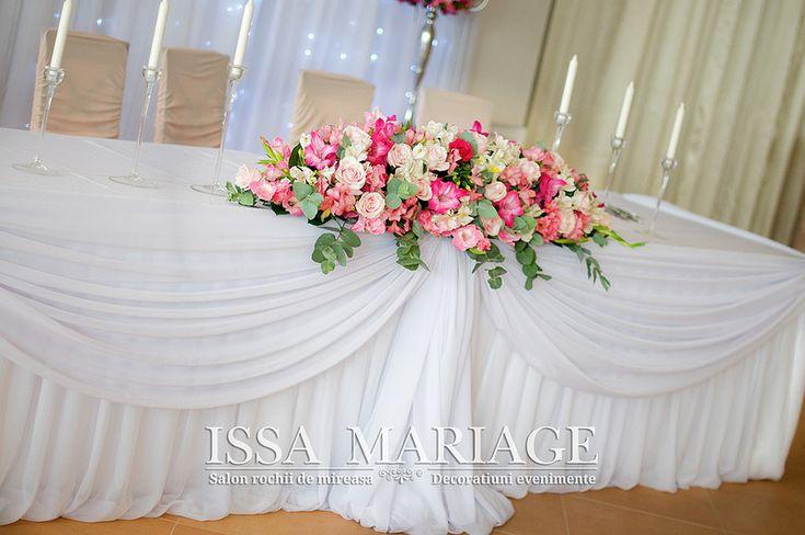 decor masa mirilor nunta botez issamariage | par IssaMariage