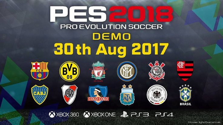 PES 2018 Demo coming 30/8/2017  #games234  Follow me  Like  Comment     #pes2018 #coming #demo   ______________________________ #videogames #games #gamer #tagsforlikes #gaming #instagamer #playinggames #online #photooftheday #onlinegaming #videogameaddict #instagame #instagood #gamestagram #gamergirl #gamin #video