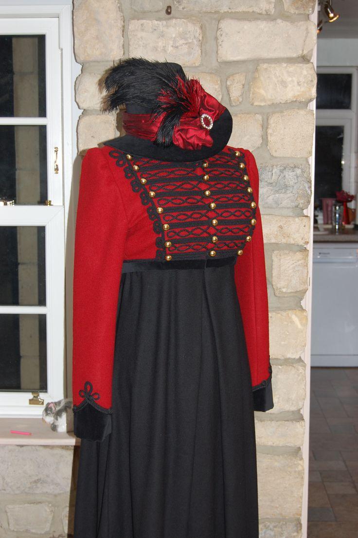 Regency fashion plate the secret dreamworld of a jane austen fan - Repro Regency Riding Habit