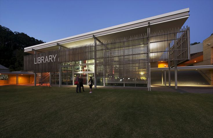 Commercial Lighting - Education ... Ourimbah Library