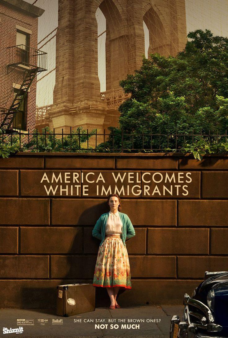 Affiche parodique des Oscars - Brooklyn