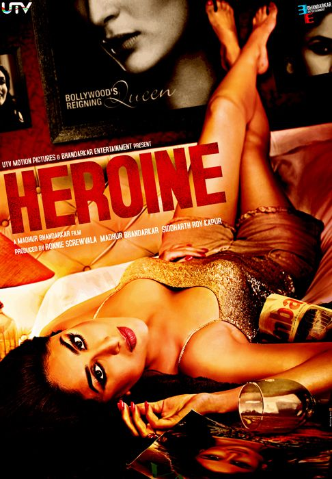 First Look Poster of Heroine | Bollywood Movie Poster ...