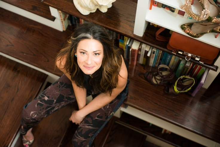 Stacy London | The Coveteur. A peek in Stacy's London's amazing Brooklyn digs.