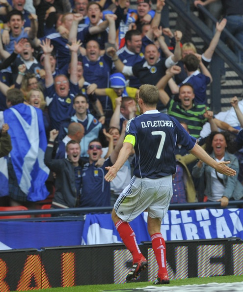 Darren Fletcher - Scotland