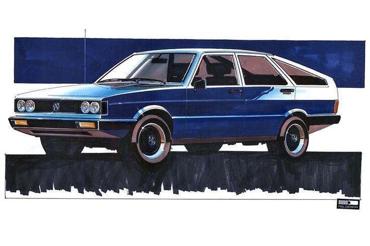 Volkswagen Classic - The Family Planner: designer Giorgetto Giugiaro and Passat