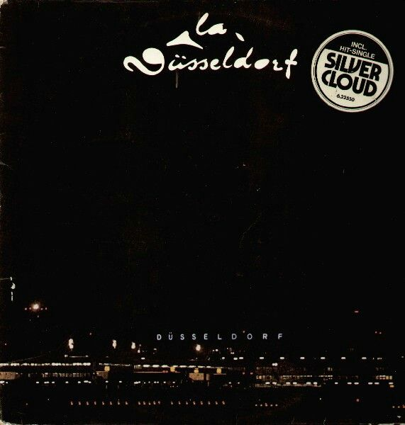 """LA DUSSELDORF s/t 1976 Nova (Germany) Named after their city this is CLAUS DINGER from KRAFTWERK (1970) & the genius band NEU! teaming up w/ his brother & HANS LAMPE who was in A.R. & THE MACHINES, another brilliant group before playing on NEU!'75 LP. This project was probably the biggest influence on DAVID BOWIE while recording """"HEROES""""(also a NEU! reference) """"Heroes"""" the song borrows from """"Silver Cloud"""". DINGER wanted to be""""Pop"""" to guitar & vocals. He has a PUNK delivery on the title…"""
